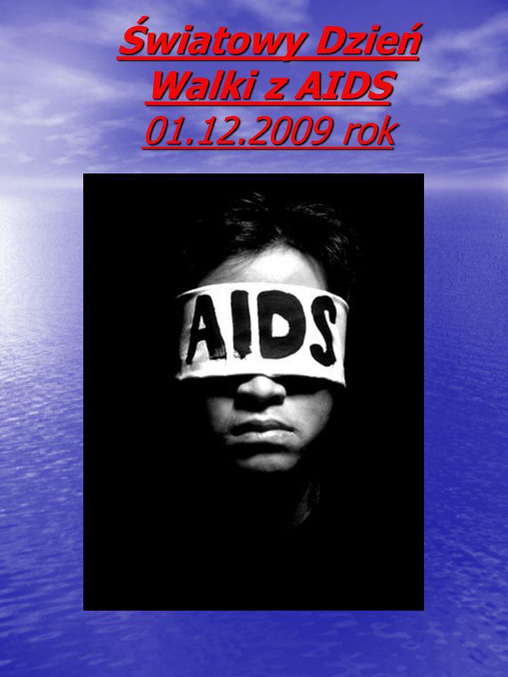 Światowy Dzień Walki z AIDS 01.12.2009 rok