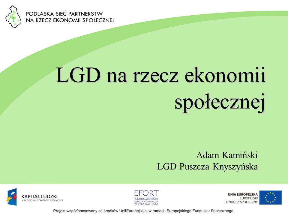 Szkoła Liderów II edycje SZKOŁY LIDERÓW EKONOMII SPOŁECZNEJ w ramach projektu Ekonomia Społeczna w Puszczy Knyszyńskiej - W szkoleniach wzięło udział 28 osób