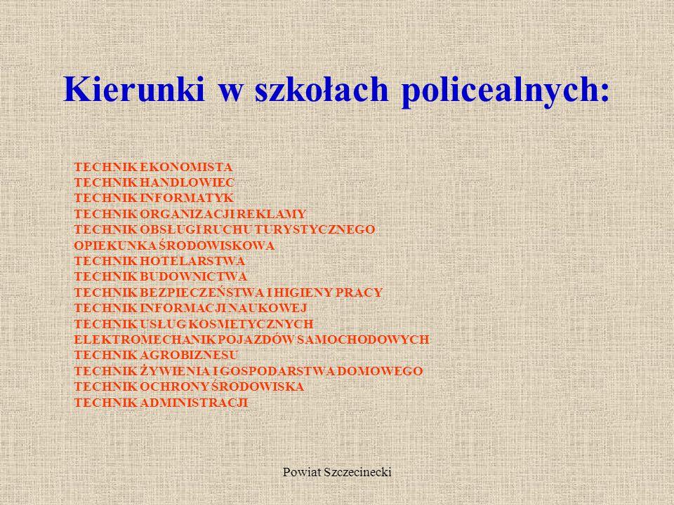 Powiat Szczecinecki W przypadku, gdy nie przystąpisz do egzaminu maturalnego lub go nie zdasz, możesz kontynuować naukę w szkole policealnej.