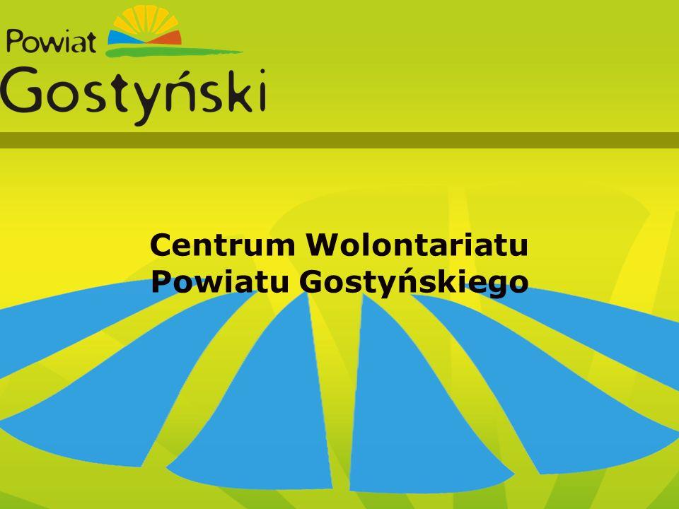 XXXIX Sesja Rady Powiatu Hala w ZSO w Gostyniu Centrum Wolontariatu Powiatu Gostyńskiego