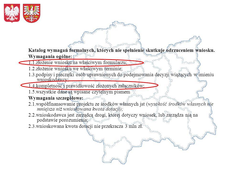 3.Współpraca między jednostkami samorządu terytorialnego i innymi partnerami 123 Kryterium współfinansowanie projektu przez parterów Inne formy współpracy z parterami kontynuacja projektu objętego odrębnymi wnioskami opis współpraca miedzy jednostkami samorządu terytorialnego, w jednym ciągu drogowym o łącznej długości: do 2 km – 1 pkt, powyżej 2 km – 2pkt partnerstwo z podmiotami gospodarczymi –(tylko finansowe), punkty zależne od wkładu finansowego: do 5% - 1 pkt, powyżej 5% - 2pkt Kontynuacja projektu, Objętego odrębnymi wnioskami – 1 pkt punkty0-2 1