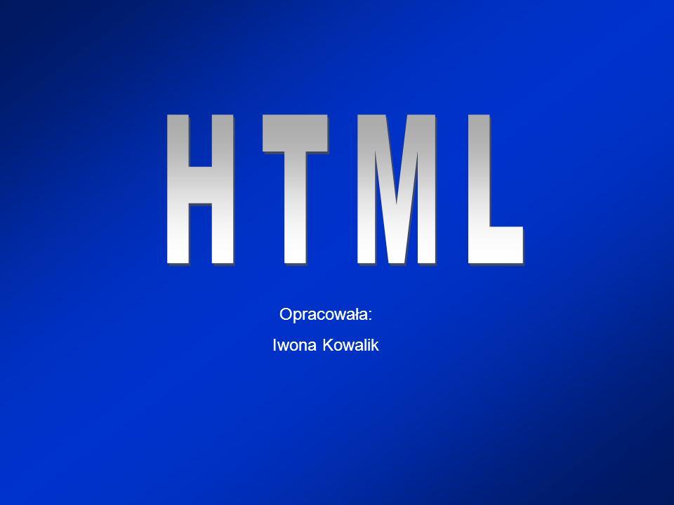 HTML to język, w którym tworzone są strony WWW.
