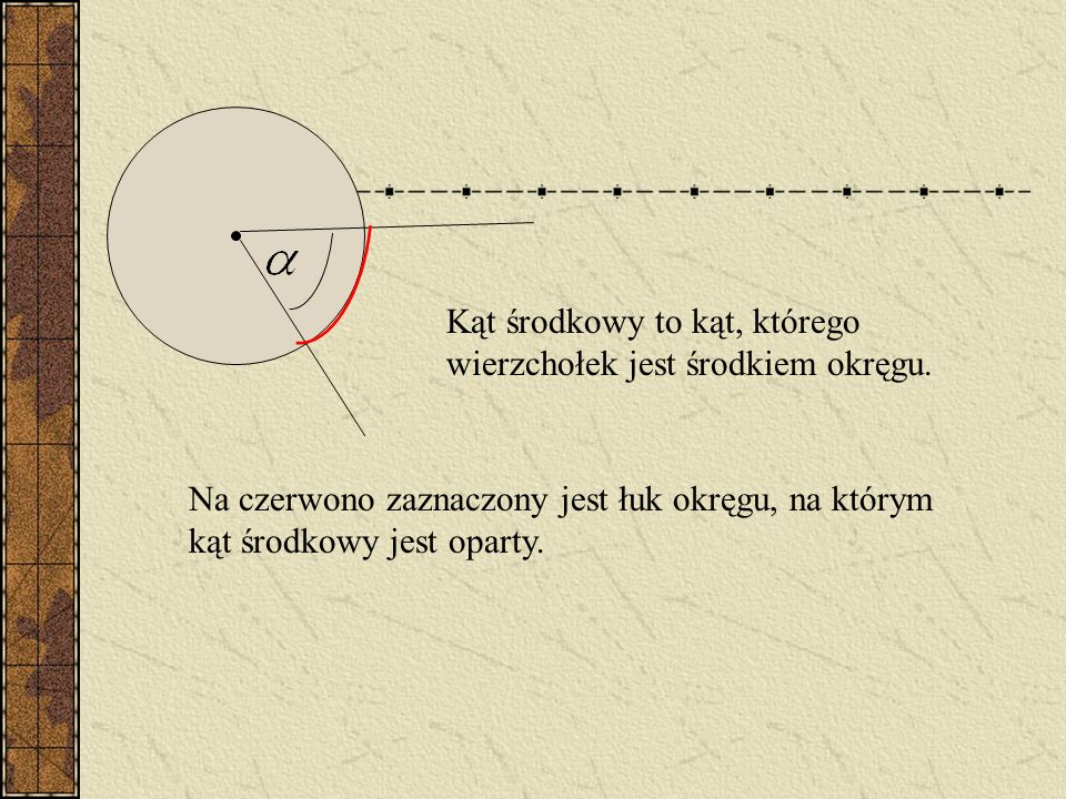 Średnicą okręgu lub koła jest odcinek łączący dwa punkty okręgu, przechodzący przez jego środek. Średnica jest najdłuższą cięciwą.