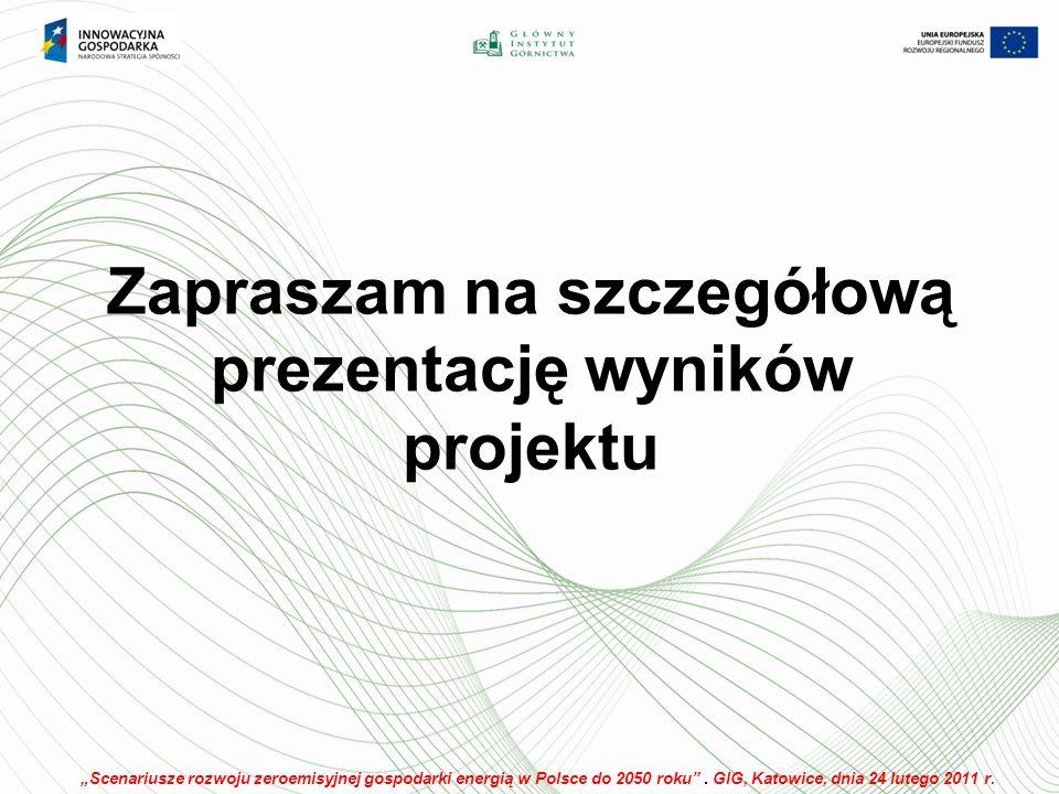 Zapraszam na szczegółową prezentację wyników projektu Scenariusze rozwoju zeroemisyjnej gospodarki energią w Polsce do 2050 roku.