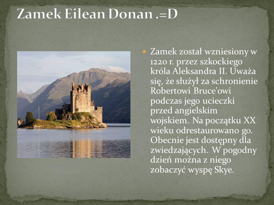Zamek został wzniesiony w 1220 r. przez szkockiego króla Aleksandra II. Uważa się, że służył za schronienie Robertowi Bruce'owi podczas jego ucieczki