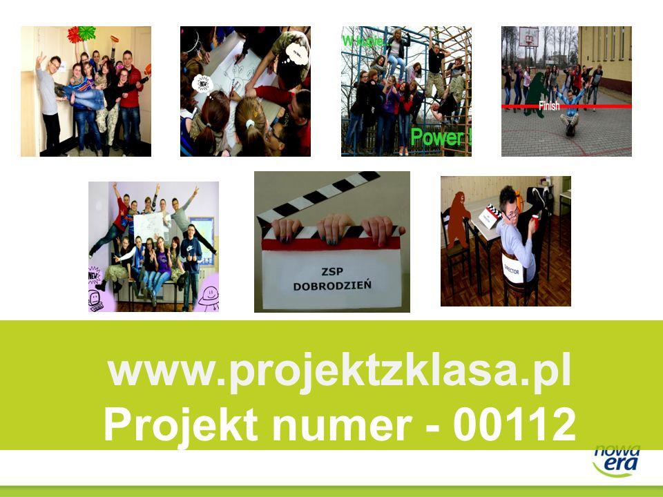 www.projektzklasa.pl Projekt numer - 00112