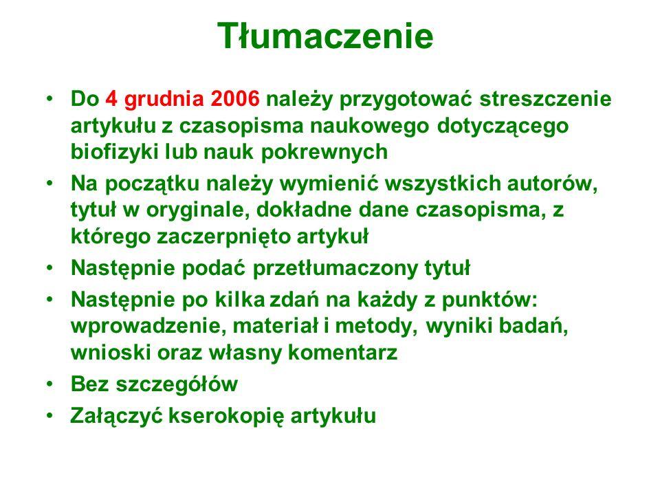 Odniesienie do artykułu Wchowanski M., Wit A., Slugocki G., Gajewski J., Orzechowski G.
