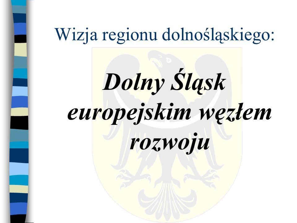 Wizja regionu dolnośląskiego: Dolny Śląsk europejskim węzłem rozwoju