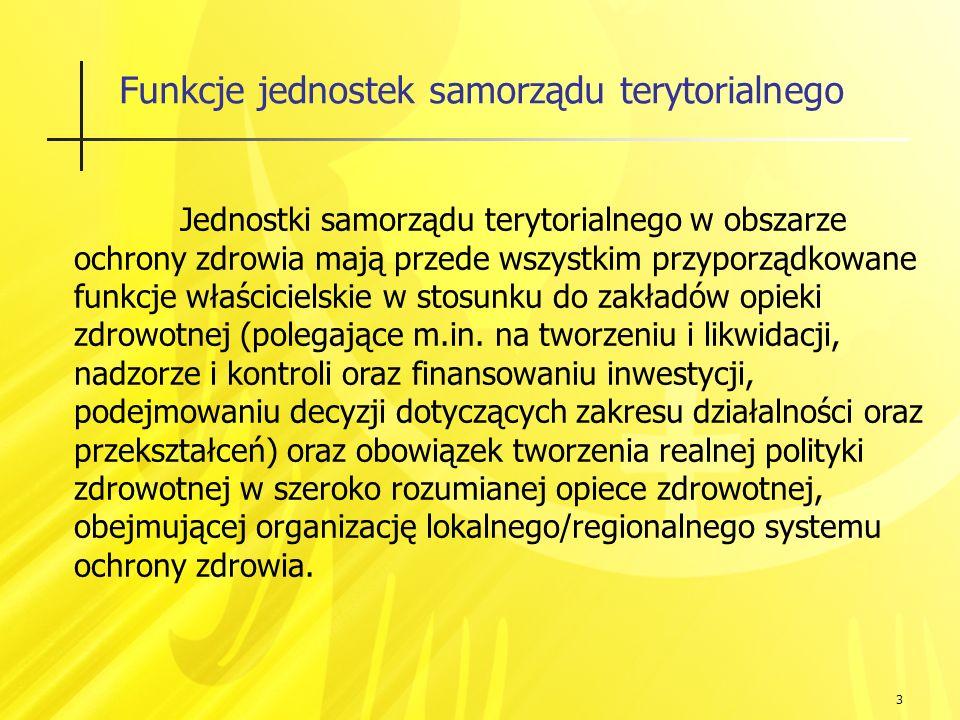 14 Lecznictwo szpitalne w powiatach Powiat Górowski: 73.