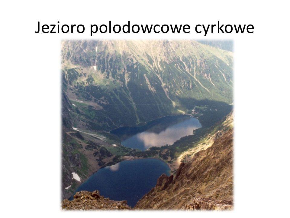 Jezioro polodowcowe cyrkowe