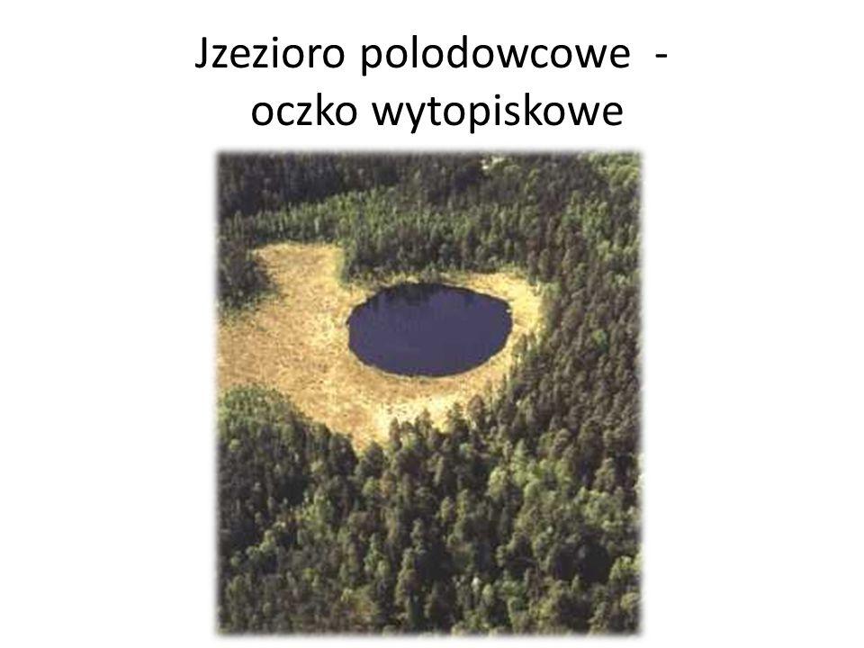 Jzezioro polodowcowe - oczko wytopiskowe