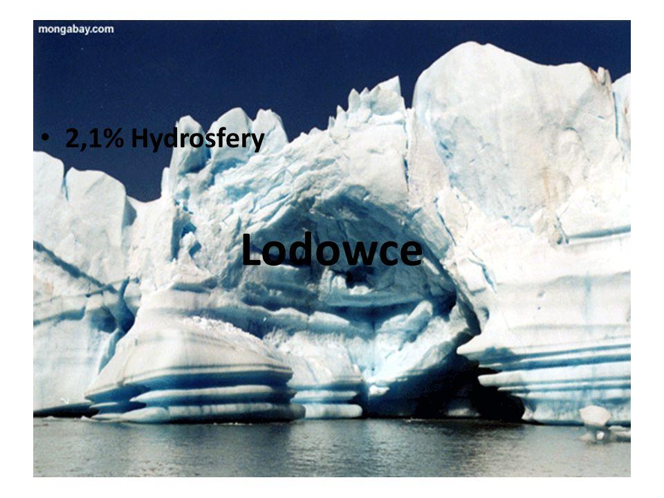 Wody słone stanowią 97,4% wszystkich wód, wody słodkie 2,6%.