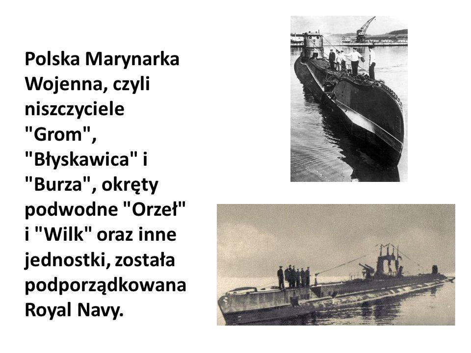 Polska Marynarka Wojenna, czyli niszczyciele