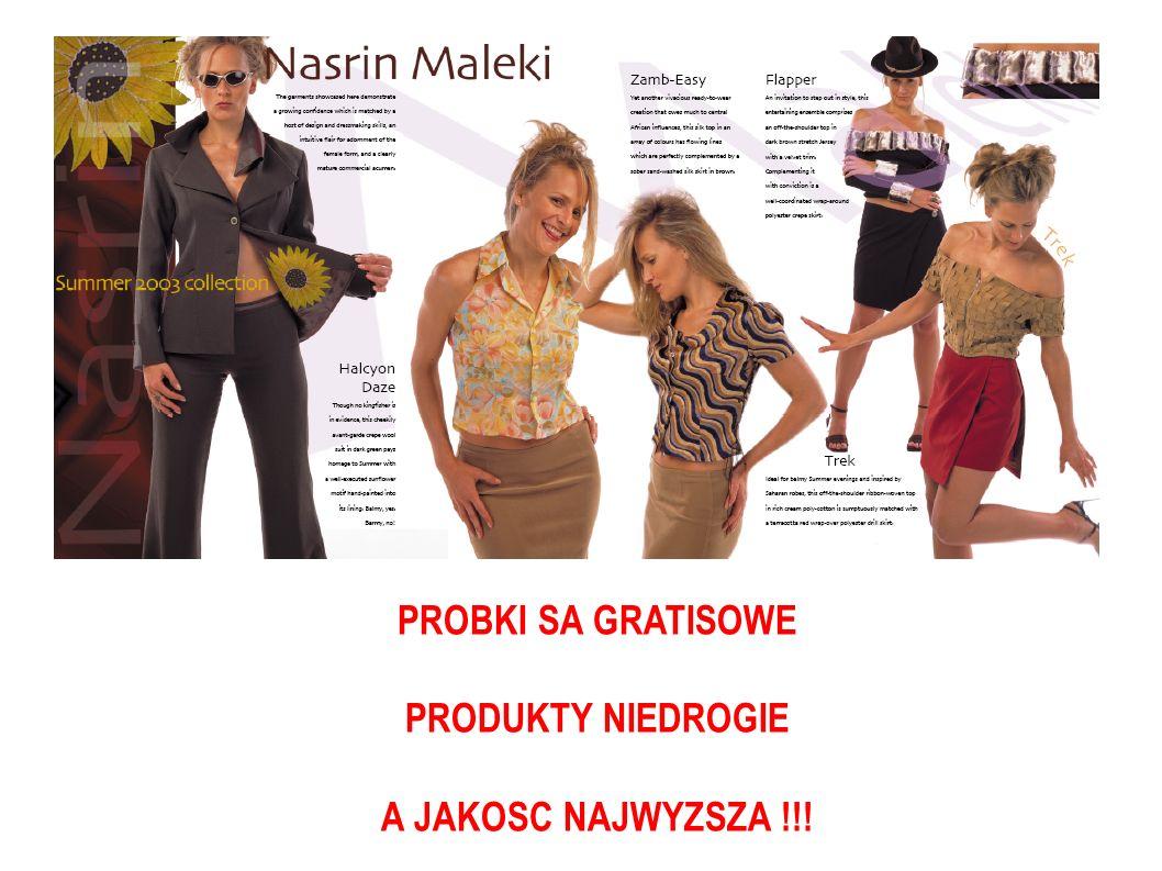 PROBKI SA GRATISOWE PRODUKTY NIEDROGIE A JAKOSC NAJWYZSZA !!!