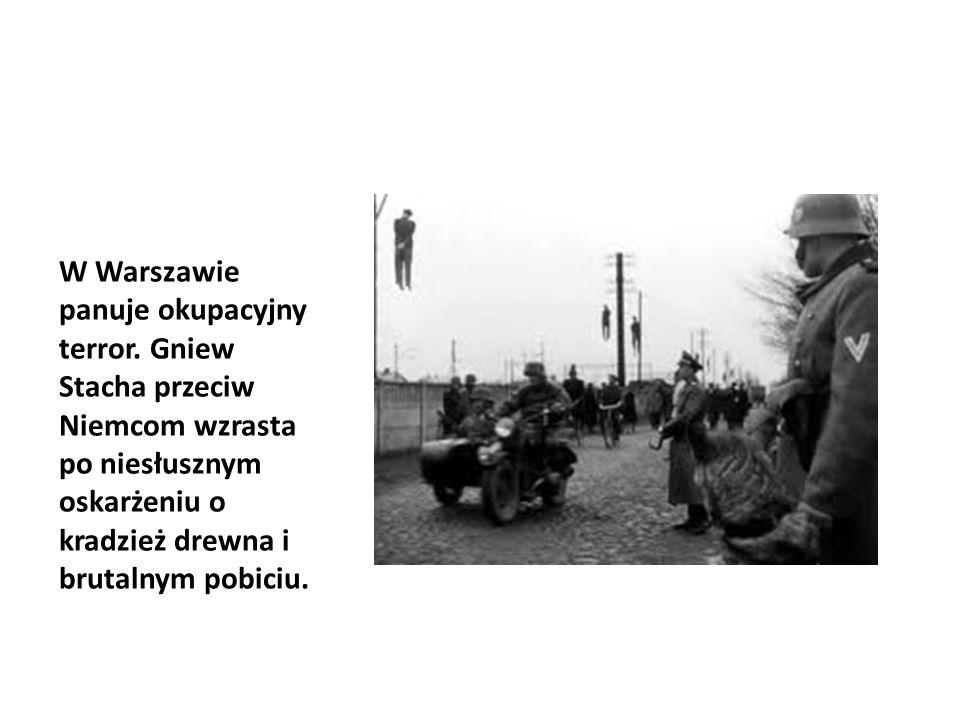 W Warszawie panuje okupacyjny terror.