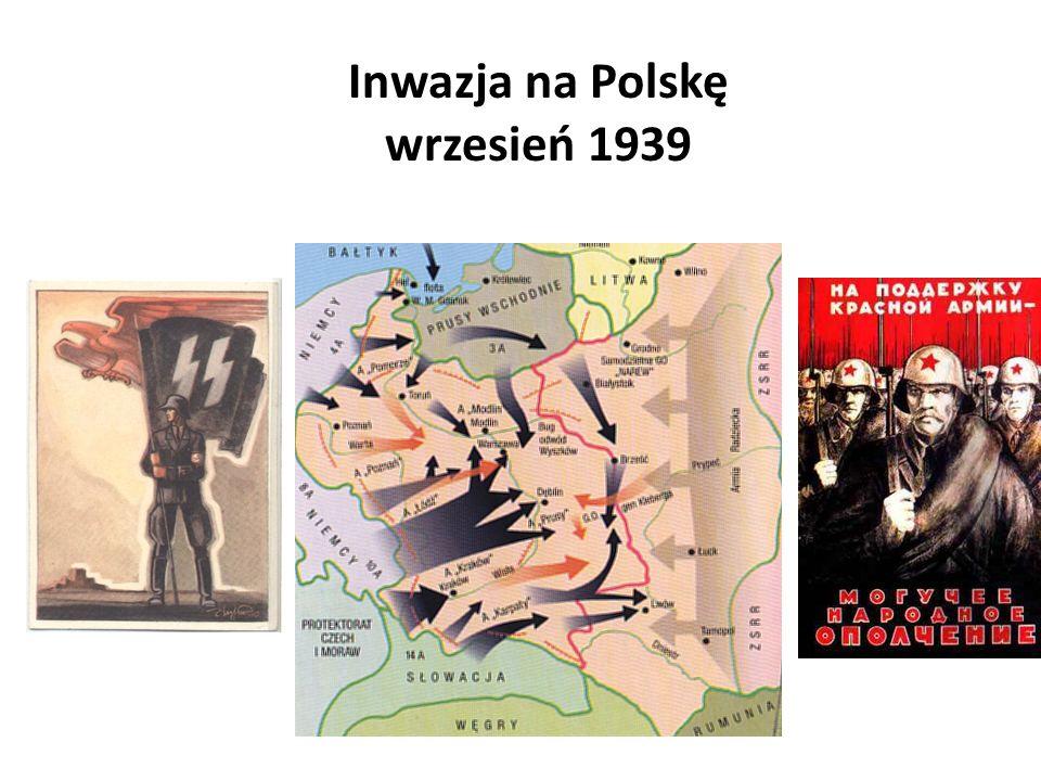 Inwazja na Polskę wrzesień 1939
