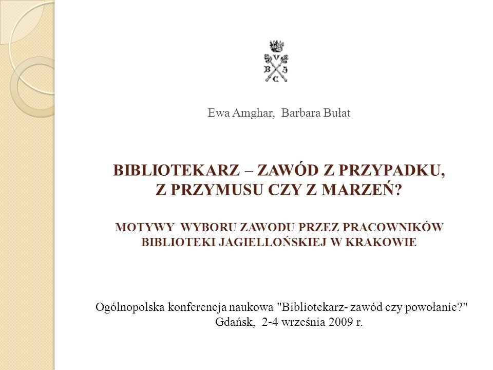 Nieetatowa praca w bibliotece a potwierdzenie wyobrażeń i oczekiwań wobec zawodu (w %) Ogólnopolska konferencja naukowa Bibliotekarz- zawód czy powołanie? Gdańsk, 2-4 września 2009 r.