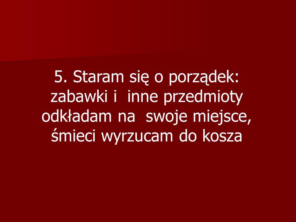 6. W Oratorium obowiązuje mnie zmiana obuwia