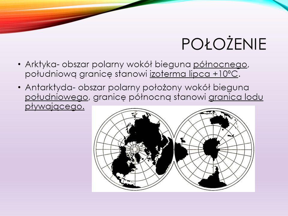 PODZIAŁ ANTARKTYDY Antarktyda- lodowy kontynent o powierzchni 14mln km² Najwyższy szczyt tego kontynentu to Masyw Vinsona 4892m n.p.m.