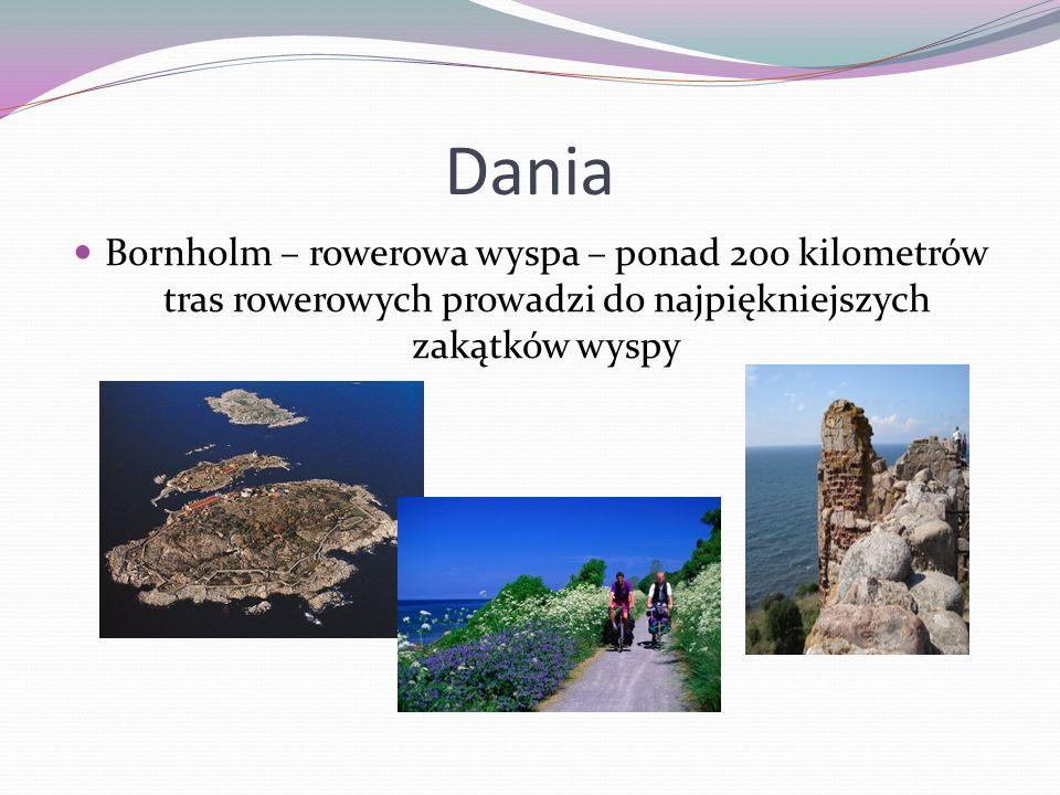 Dania Bornholm – rowerowa wyspa – ponad 200 kilometrów tras rowerowych prowadzi do najpiękniejszych zakątków wyspy