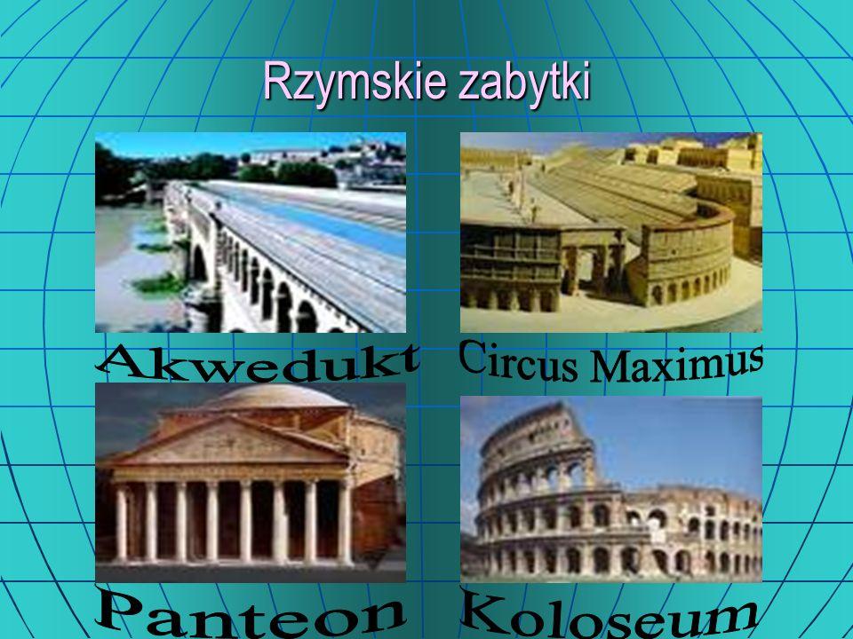 Rzymskie zabytki