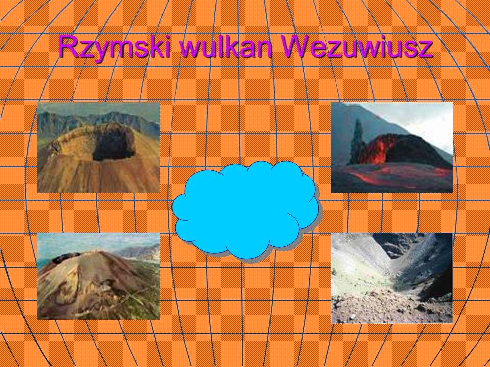Rzymski wulkan Wezuwiusz