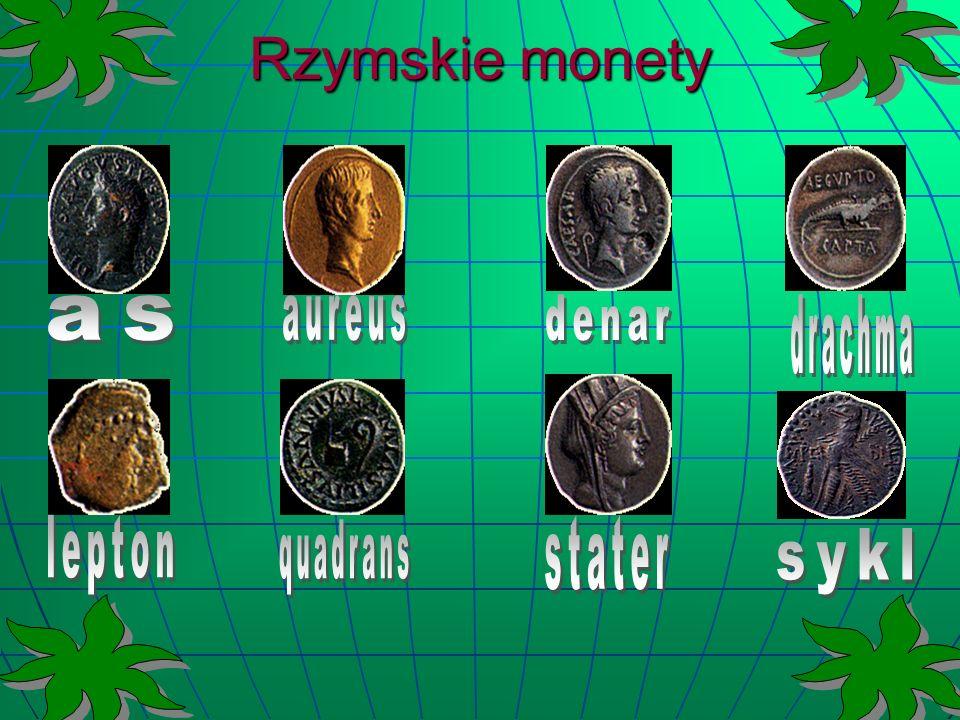 Rzymskie monety