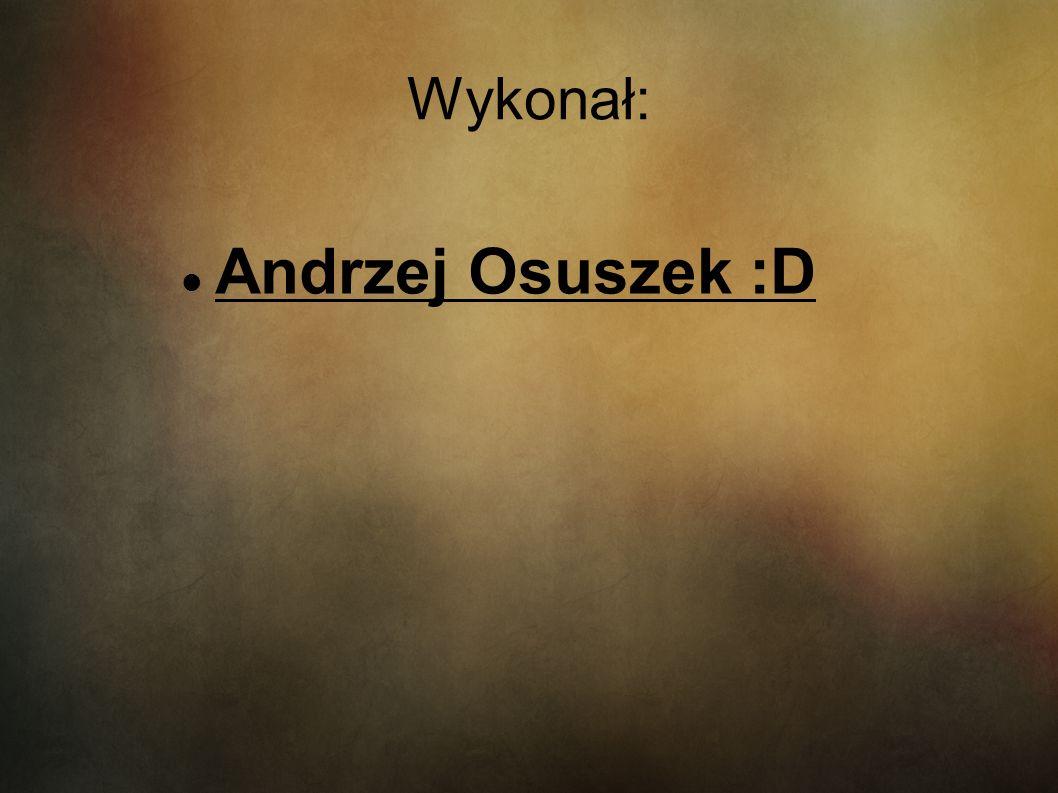 Wykonał: Andrzej Osuszek :D