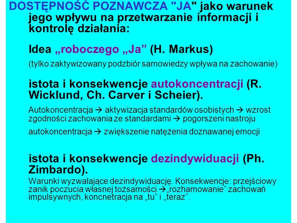 AUTOSCHEMATY: Poznawcze generalizacje n.t.