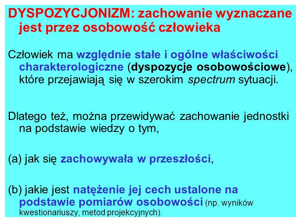 CZYNNIKOWA TEORIA OSOBOWOŚCI R.B.