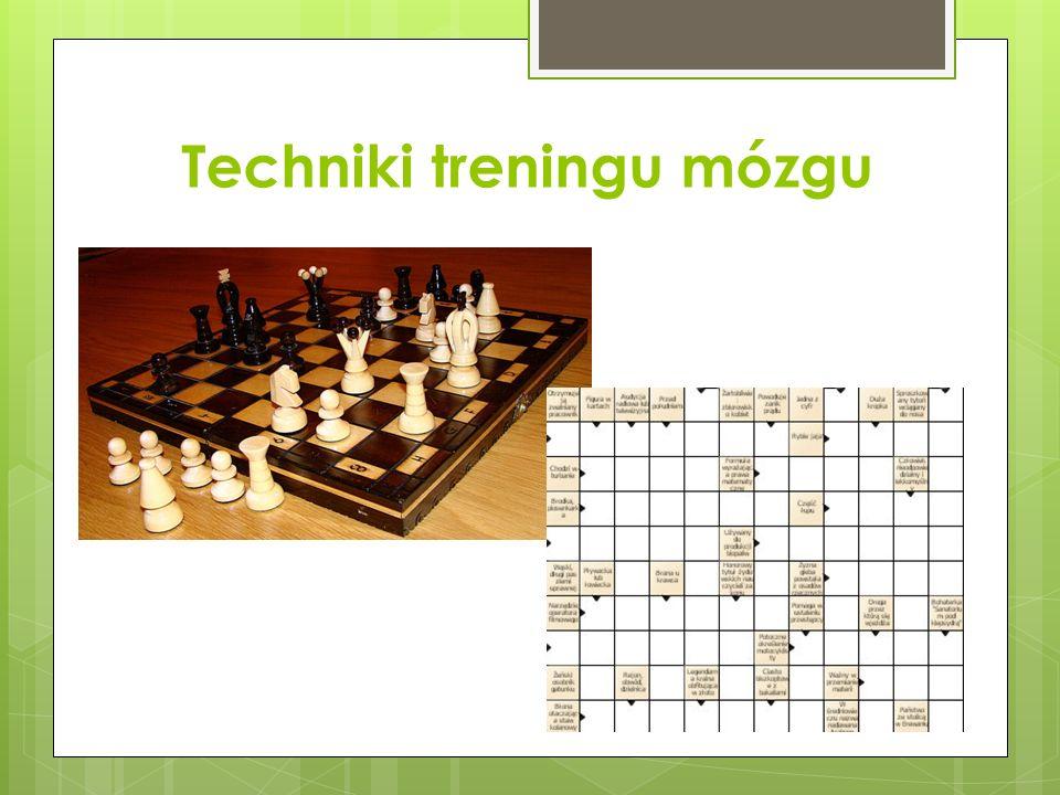 Techniki treningu mózgu