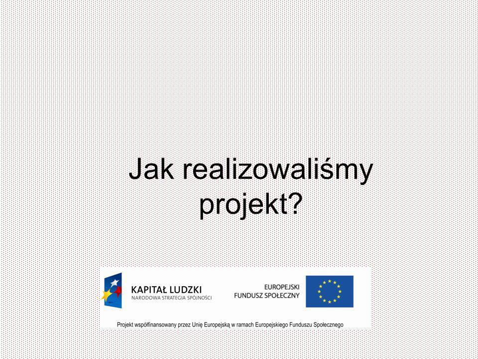 Jak realizowaliśmy projekt?