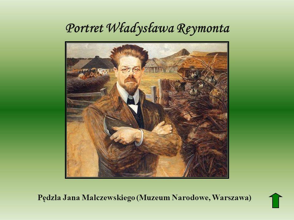 Portret Władysława Reymonta Pędzla Jana Malczewskiego (Muzeum Narodowe, Warszawa)