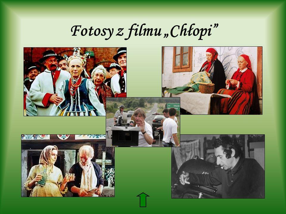 Fotosy z filmu Chłopi