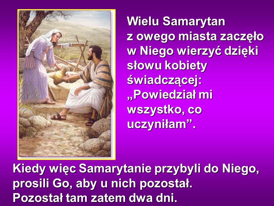 Żniwiarz otrzymuje już zapłatę i zbiera plon na życie wieczne, tak iż siewca cieszy się razem ze żniwiarzem.