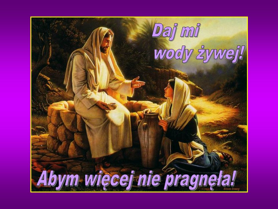 I o wiele więcej ich uwierzyło na Jego słowo, a do tej kobiety mówili: Wierzymy już nie dzięki twemu opowiadaniu, na własne bowiem uszy usłyszeliśmy i jesteśmy przekonani, że On prawdziwie jest Zbawicielem świata.