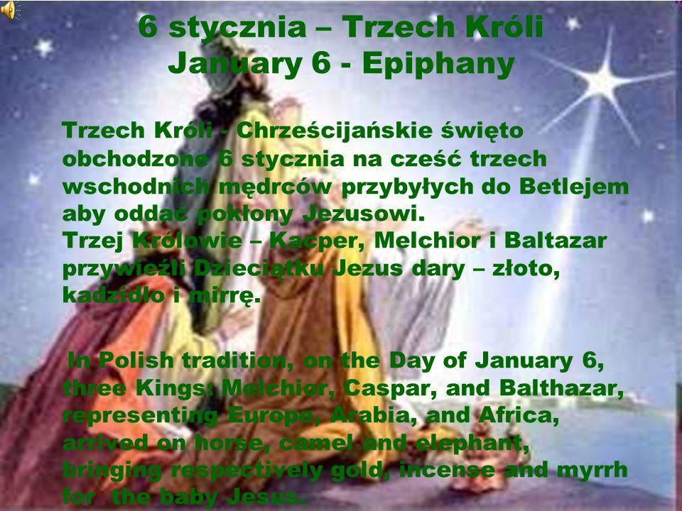Święta religijne Religious holidays