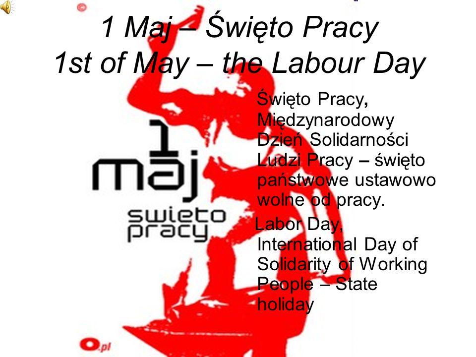 Święta narodowe National holidays