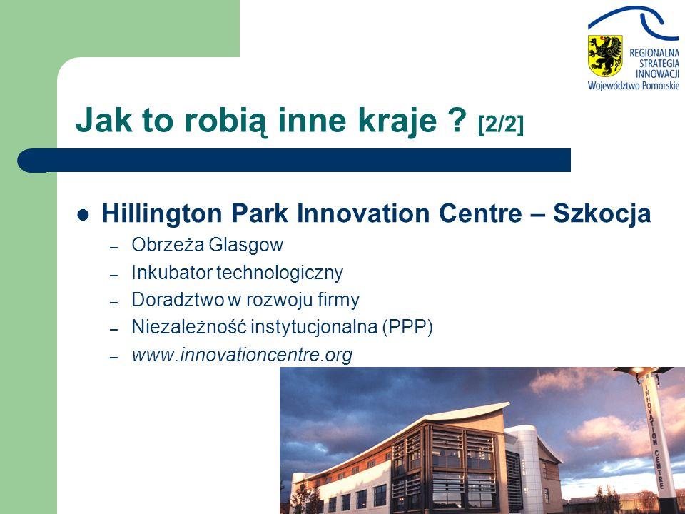Hillington Park Innovation Centre – Szkocja – Obrzeża Glasgow – Inkubator technologiczny – Doradztwo w rozwoju firmy – Niezależność instytucjonalna (PPP) – www.innovationcentre.org Jak to robią inne kraje .
