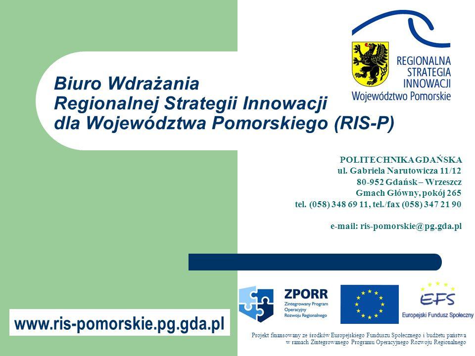 POLITECHNIKA GDAŃSKA ul. Gabriela Narutowicza 11/12 80-952 Gdańsk – Wrzeszcz Gmach Główny, pokój 265 tel. (058) 348 69 11, tel./fax (058) 347 21 90 e-