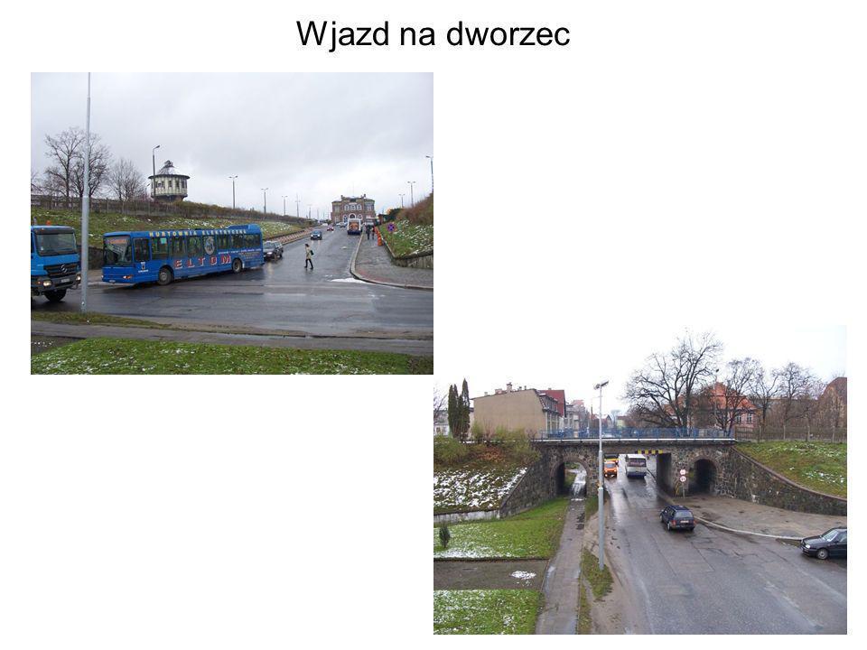 Wjazd na dworzec