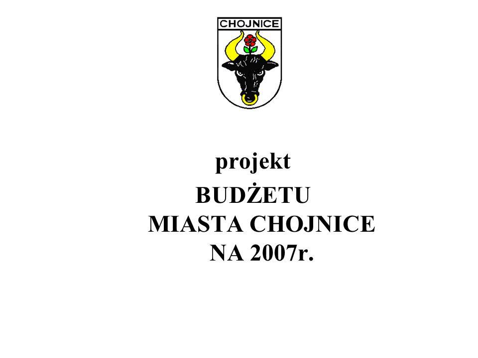 -projekt- Uchwała Nr IV/…/07 Rady Miejskiej w Chojnicach z dnia 9 lutego 2007r.