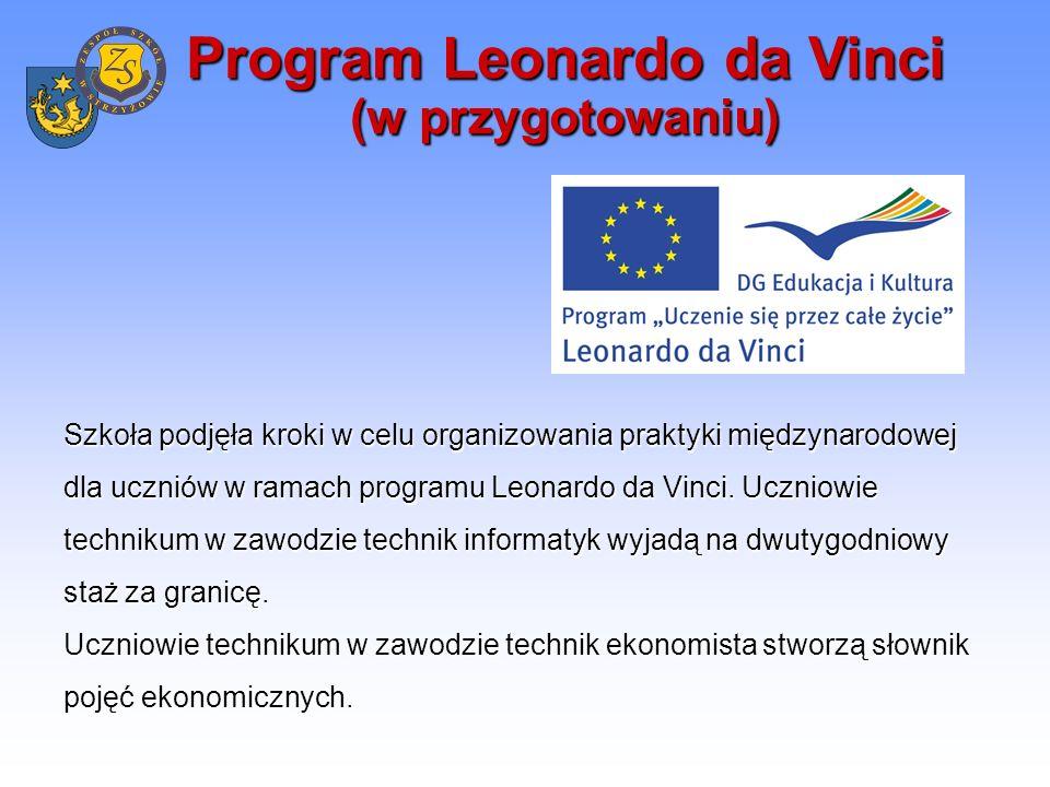 Współpraca międzynarodowa w dziedzinie sportu Wyjazdy na rozgrywki w piłce siatkowej za granicę (Ukraina, Słowacja, planowane: Węgry, Włochy i Austria).
