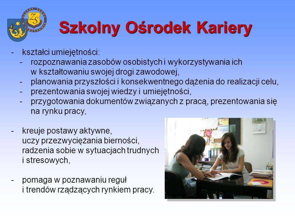 Proces dydaktyczny Zajęcia dydaktyczne prowadzone są przez nauczycieli posiadających pełne kwalifikacje zawodowe, systematycznie doskonalących swoje umiejętności.