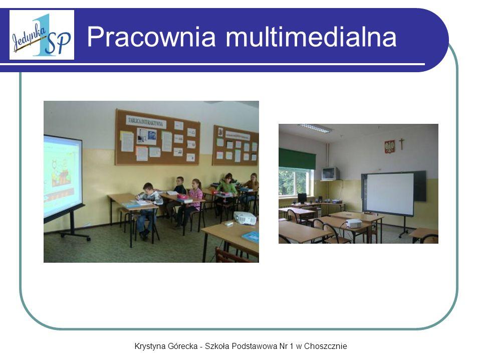 Krystyna Górecka - Szkoła Podstawowa Nr 1 w Choszcznie Kursy dla nauczycieli SP1