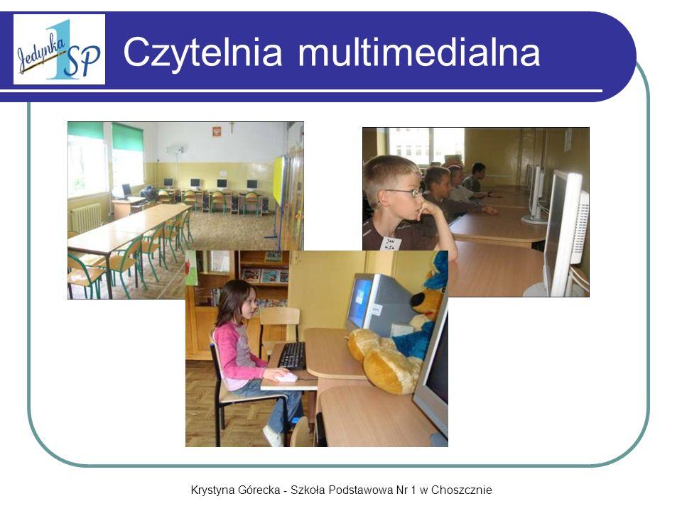 Krystyna Górecka - Szkoła Podstawowa Nr 1 w Choszcznie Czytelnia multimedialna