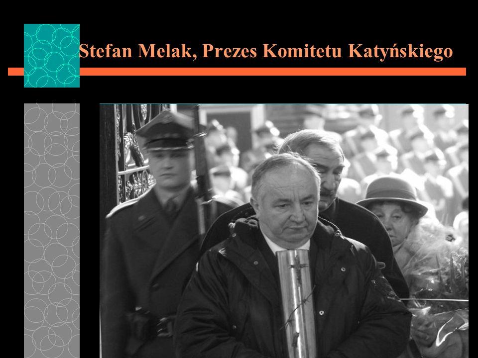 Stefan Melak, Prezes Komitetu Katyńskiego