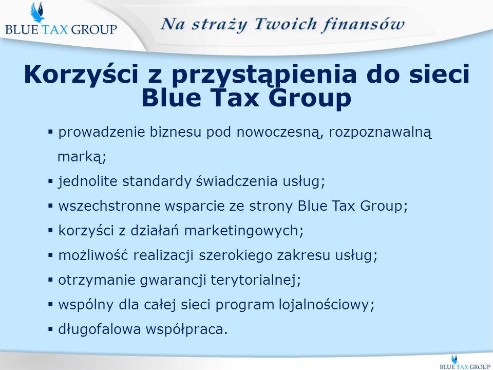 Usługi Blue Tax Group S.A.