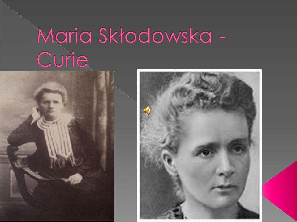 Urodziła się 7 listopada 1867 roku w Warszawie.Była najmłodsza spośród pięciorga rodzeństwa państwa Skłodowskich.