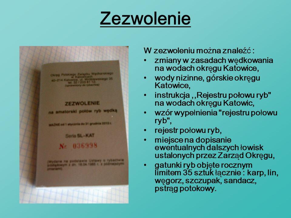 Regulamin I - Wstęp II - Prawa wędkującego w wodach PZW III - Obowiązki wędkującego w wodach PZW IV - Zasady wędkowania V - Dozwolone metody wędkowania VI - Ochrona ryb VII - Kontrola i odpowiedzialność wędkujących w wodach PZW VIII - Informacje końcowe Regulamin dzieli się na rozdziały, jest ich VIII: